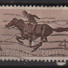 USA 1960 - Scott 1154 used - 4c, Pony Express (N-482)