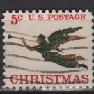 US 1965 - Scott 1276 used - 5c,Angel with Trumpet, Christmas issue (13-14)