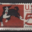USA 1966 - Scott 1307 used -5c, Humane treatment of Animals (13-16)