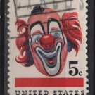 USA 1966 - Scott 1309 used - 5c, American Circus Issue (13-22)