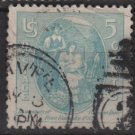 USA   1937 - Scott 796 used - 5c, Virginia Dare(13-29)