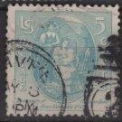 USA   1937 - Scott 796 used - 5c, Virginia Dare(13-29)