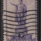 USA 1937 - Scott 799 used - 3c,  Statue, HAWAII(13-30)