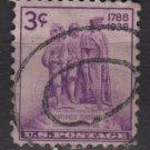 USA 1938 - Scott 837 used - 3c,  Northwest Territory (13-32)