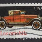 USA 1988 - Scott 2381 used - 25c, Classic Car, Locomobile  (A-49)