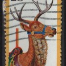 USA 1988 - Scott 2390 used - 25c, Carousel Animal, Deer   (A-58)