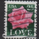 USA 1988 - Scott 2378 used - 25c, LOVE   (A-61)