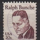 USA 1980 - Scott 1860 used - 20c, Ralph Bunche (A-100)