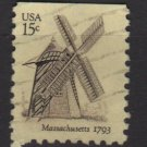 USA 1980 - Scottt 1740 used - 15c, Windmilll, Massachusetts (A-113)