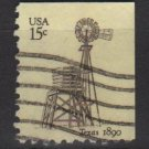 USA 1978 - Scott 1742 used - 15c, Texas Windmill (A-119)
