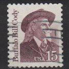 USA 1986 - Scott 2177 used - 15c, Buffalo Bill Cody (A-135)