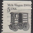 USA 1987 - Scott  2253 used - 5c, Milk Wagon 1900s (A-422)