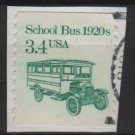 USA 1985 - Scott 2123 used - 3.4c, School bus 1920s (A-717)