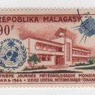 Malagasy 1964 AIRMAIL - Scott C78 CTO - Meteorological day (A-66)