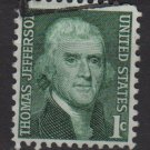 USA 1965 - Scott 1278 used - 1c, Thomas Jefferson   (A-954)
