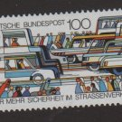 Germany 1991 - Scott 1678 MNH - 100pf, Traffic safety (B-757)