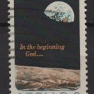 USA 1969 - Scott 1371 used - Moon Surface & Earth, Appolo 8   (B-760)