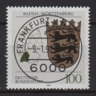 Germany 1992 - Scott 1699 CTO - Arms Baden Wurttemberg   (B-444)