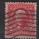 USA 1902 - Scott 301 used - 2c, Washington  (N-303)