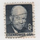 USA 1970 - Scott 1393 used - 6c, Eisenhower (F-107)