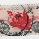 USA 1965 - Scott 1261 used - 5c, Battle of New Orleans  (H-465)