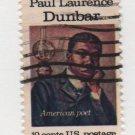 USA 1975 - Scott 1554 used - 10c, Paul Laurence Dunbar  (i-110)