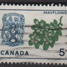 CANADA 1964 - Scott 420 used - 5c, Mayflower & Arms (10-452)