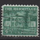 USA 1954 - Scott 1037 used -4.1/2c, The Hermitage  (F-67)