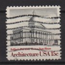 USA 1979 - Scott 1781 used - 15c, Architecture, Bulfinch, Boston State (T-60)