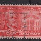 USA 1957 - Scott 1086 used - 3c, Alexander Hamilton  (C-648)