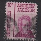 USA 1965 - Scott 1286 used - 10c, Andrew Jackson  (J-254)