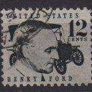 USA 1965 - Scott 1285 used - 8c, Albert Einstein (J-463)