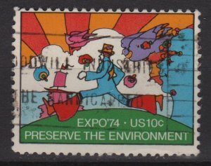 USA 1974 - Scott 1527 used - 10c, EXPO'74, world's fair  (G-709)