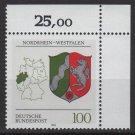 Germany 1992 - Scott 1708 MNH - Arms North Rhine Westphalia (G-10)