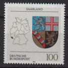 Germany 1992 - Scott 1710 MNH - Coat of Arms, Saarland  (P-280)
