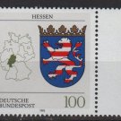 Germany 1992 - Scott 1705 MNH -Coats of Arms Hessen   (J-145)