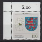Germany 1992/94 - Scott 1714 MNH - Coat of Arms, Thuringen  (P-325)