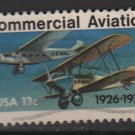 USA 1976 - Scott 1684 used - 13c, Commercial Aviation (o-44)