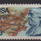 USA 1976 - Scott 1690 used - 13c, Benjamin Franklin, America Bicent. (o-46)