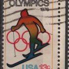 USA 1976 - Scott 1696 used - 13c, Winter Olympic, Skiing (o-147)