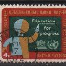 United Nations 1964 - Scott 134 used- Education for progress   (L-603)