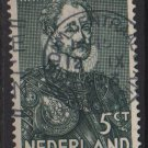Netherlands 1933 - Scott 197 used - 5c, William I (J-234)