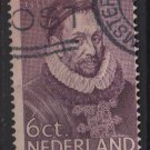 Netherlands 1933 - Scott 198 used - 6c, William I (K-47)