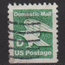 "USA 1985 Booklet stamp - Scott 2113 used - (22c) ""D"" eagle  (o-242)"