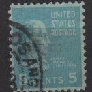 USA 1938 - Scott 810 used - 5c, James Monroe   (F-19)