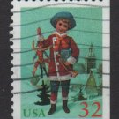USA 1995 - Scott 3009 used - 32c, Child, Christmas   (R-608)