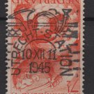 Netherlands 1945 - Scott 277 used - 7.1/2c, Lion & Dragon  (L-611)