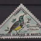 Mauritania 1963 - Scott J31 MH - 2 fr, Birds, Songbird (Q-488)