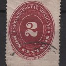 Mexico 1886 - Scott 175 used - 2c, Numeral (R-551)