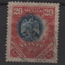 Mexico 1899 - Scott 300 used - 20c, Coat of Arms (Ra-376)